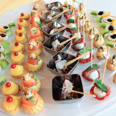 The Foodie : New Year's Finger Food Special