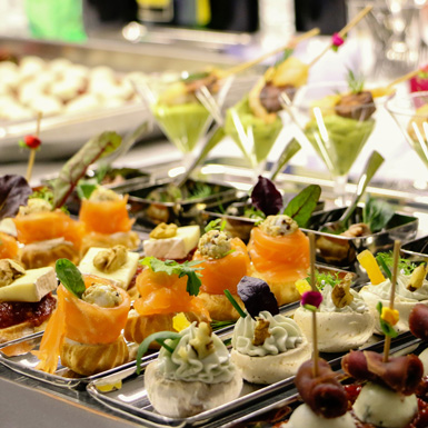 Special Holiday Cooking Class  : Festive Canapés & Amuse-bouches