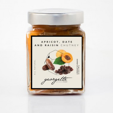 Apricots, Dates and Raisin Chutney