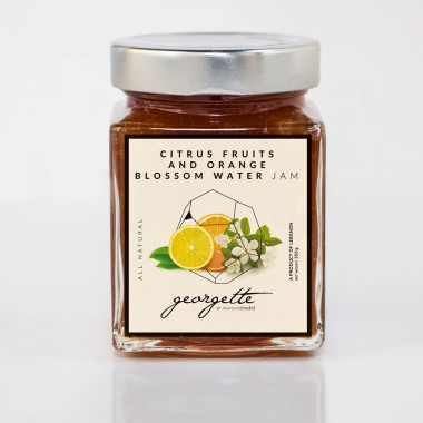 Citrus Fruits & Orange Blossom Water Jam