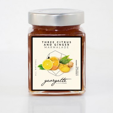 Three Citrus and Ginger Marmalade