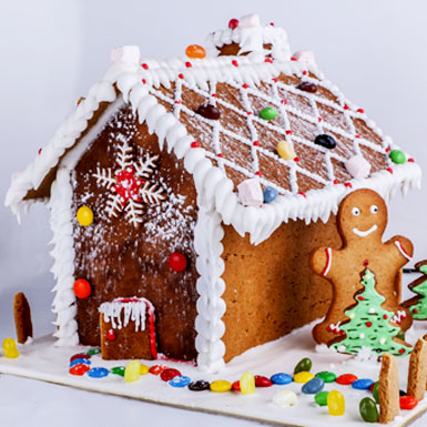 Junior Chef : Make your Own Gingerbread House