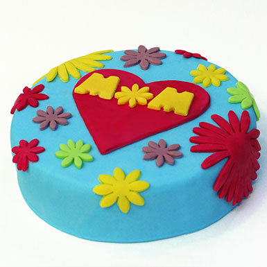 Bake and Decorate a Cake for Mother's Day