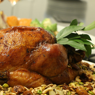 Special Holiday Cooking Class : Oriental Turkey
